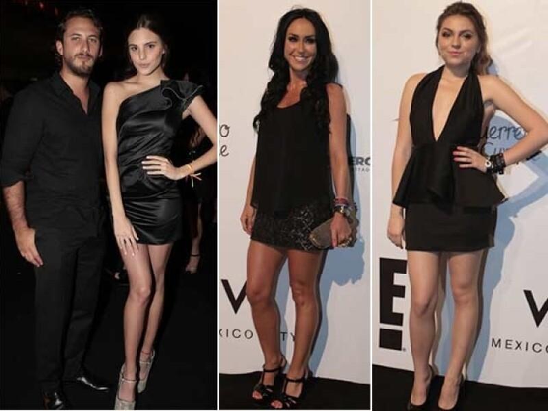 Sebastián Zurita, Macarena Achanga, Sofía Castro e Inés Gomez Mont.