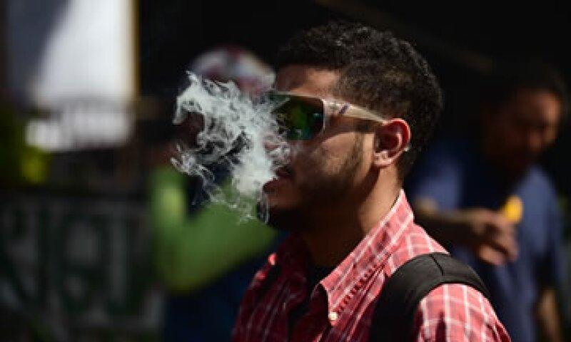 El presidente mexicano llamó a que se abra el debate sobre la marihuana y su posible consumo regulado (Foto: AFP )