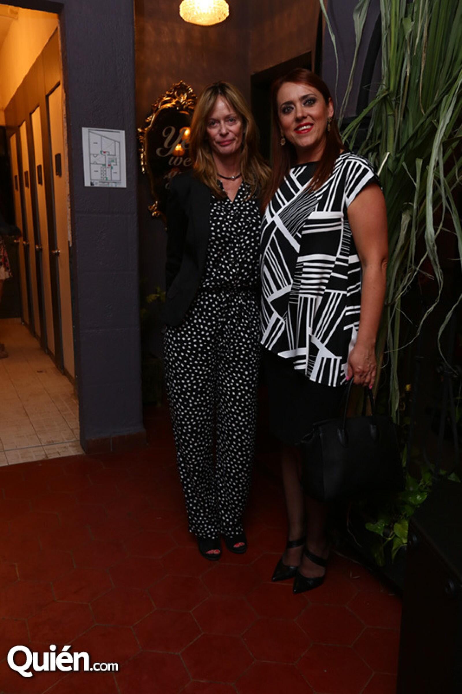 Claudia Gruber y Laura Romano