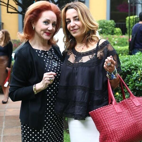 Patricia Barrios Gómez y Luisa Serna