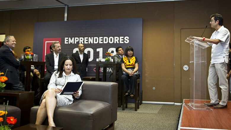 Fueron 20 los finalista seleccionados por la revista Expansión y el sitio CNNExpansión para participar en la edición Emprendedores 2013.