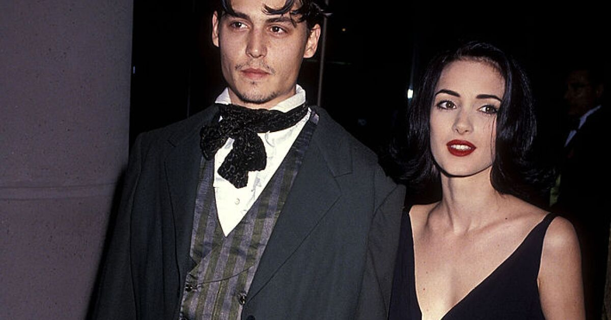 Johnny Depp auctions a poem he wrote for his ex, Winona Ryder