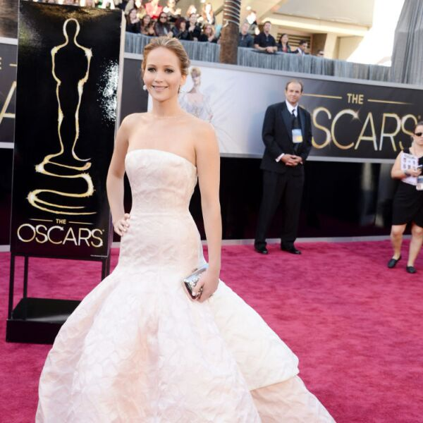 Jennifer Lawrence en Dior Haute Couture, 2013