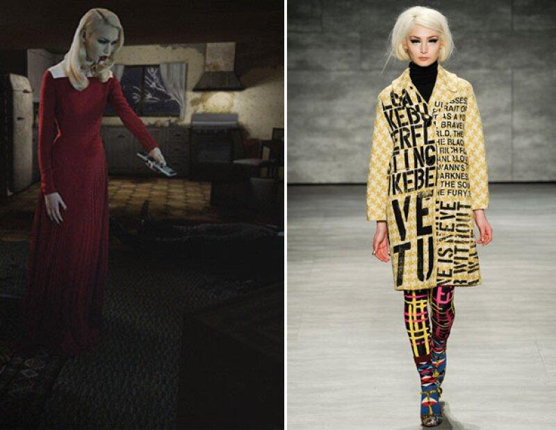 Annie Van Rickley apareció en una historia digital de moda para V.