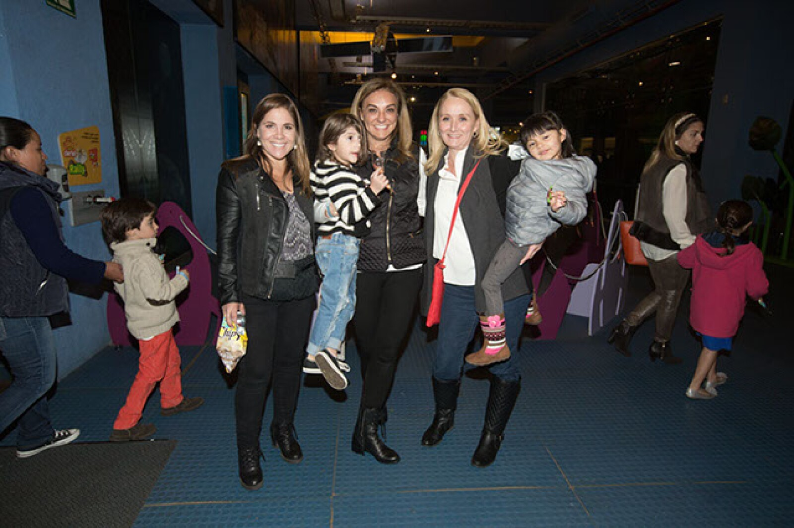 Sisi Cancino,Daniela Mendoza,Lourdes Mendoza,Malú del Valle,Martina Mendoza