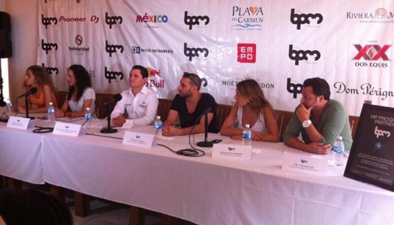 En una conferencia de prensa realizada ayer en Kool Beach Club en Playa del Carmen se dio inicio a uno de los festivales más importantes de  música electrónica.