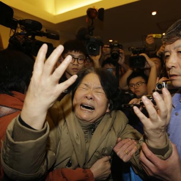 los familiares de los pasajeros se enteraron de la trágica noticia a través de un mensaje de texto de parte de la aerolínea