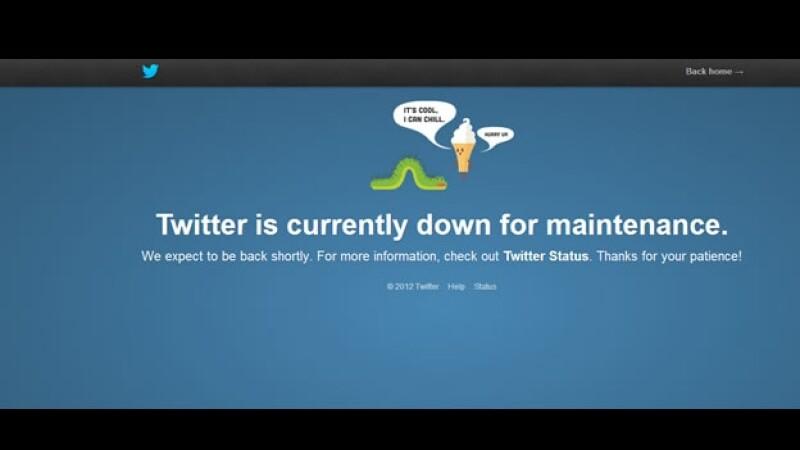 Twitter falla