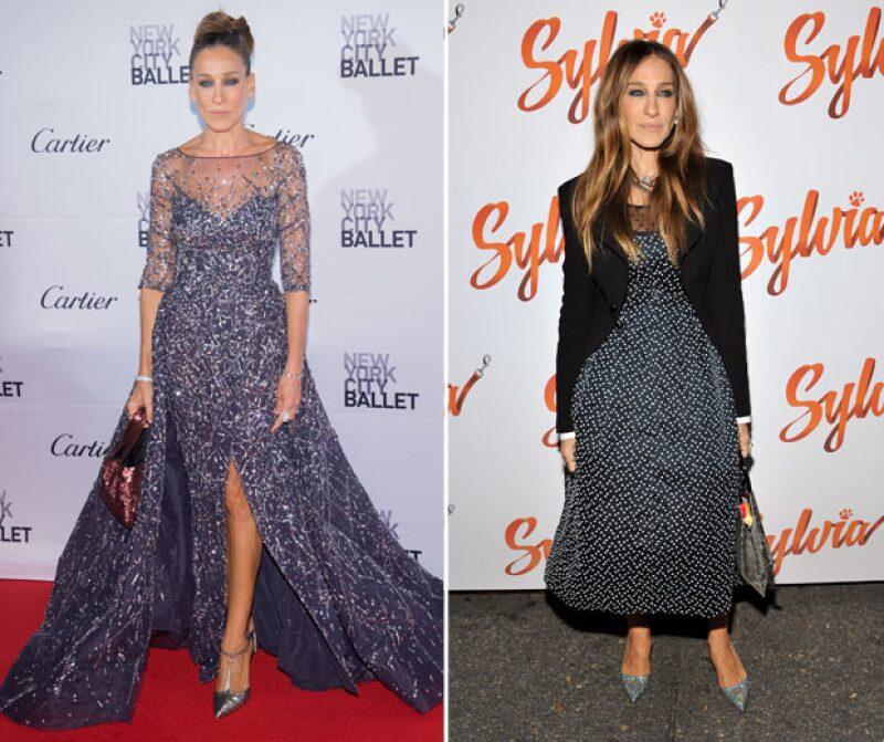A pesar de todo, Sarah sigue imponiendo su estilo en las red carpets y eventos formales.