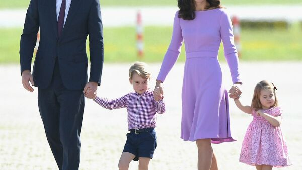 William, Kate, George, Charlotte