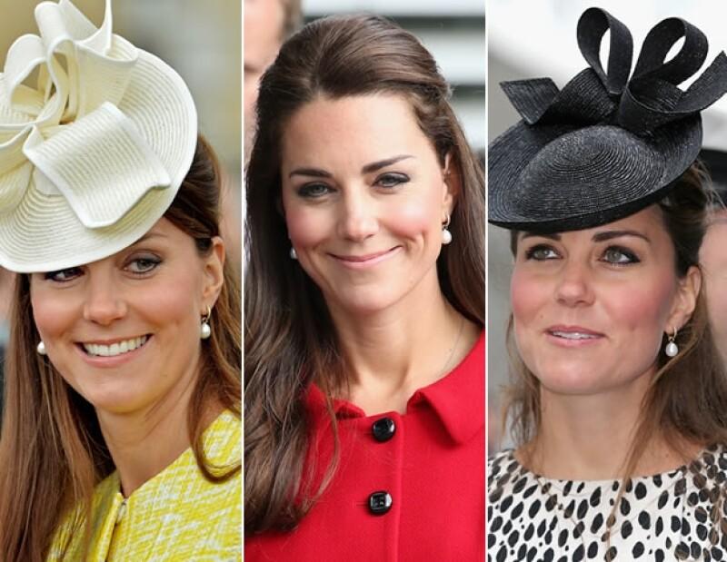 Nos queda claro cuáles son los aretes favoritos de Kate.