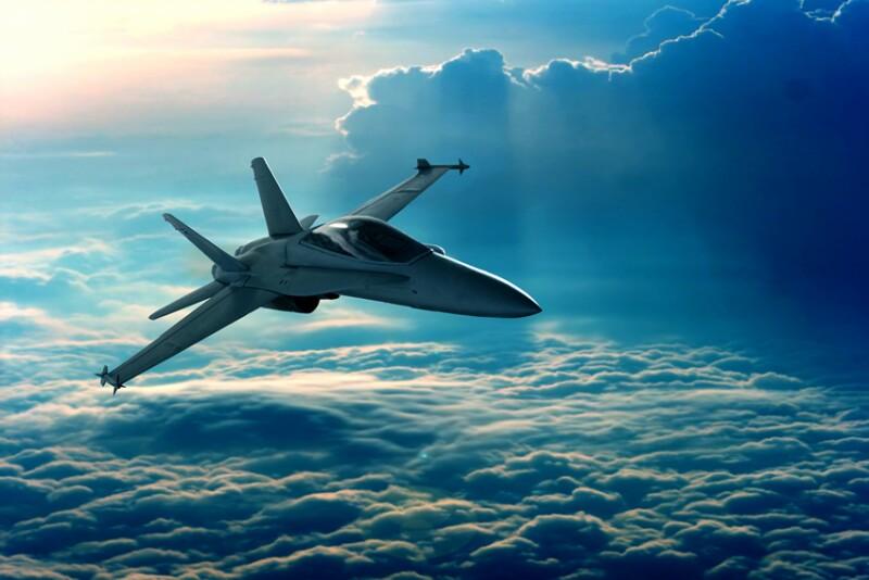 ¿Un nuevo avión caza?