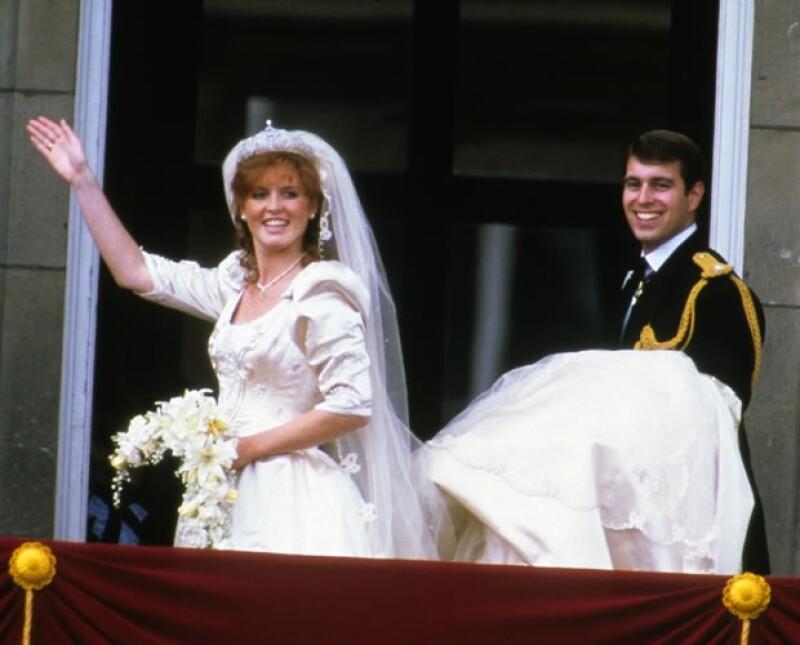 Sarah y Andrés se casaron en 1986.