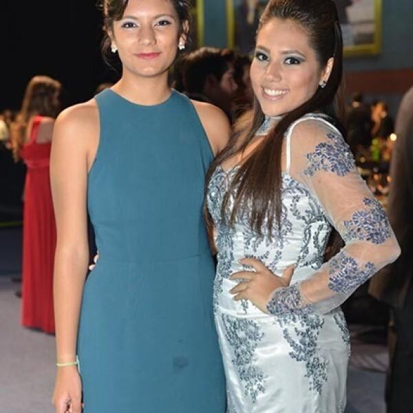 Catalina García y Miranda González.