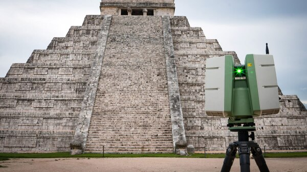 Chichen Itzá - Digitalización