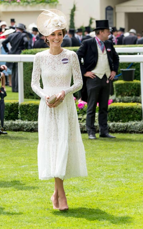 Ayer, la duquesa de Cambridge asistió por primera vez a Royal Ascot.
