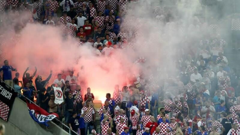Croacia aficionados racismo