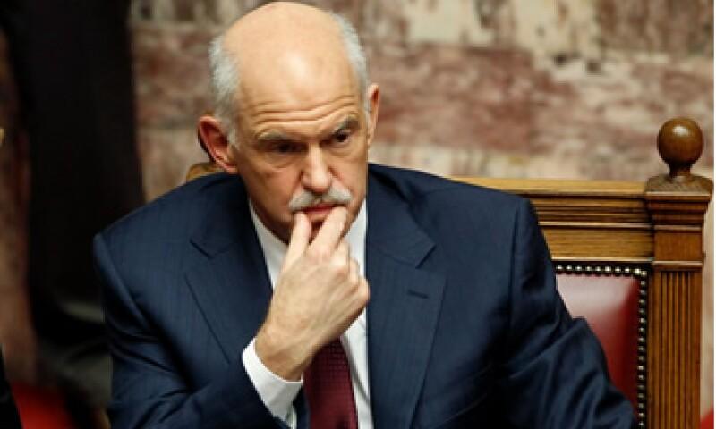 El primer ministro griego, George Papandreou propuso este viernes un Gobierno de coalición.  (Foto: Reuters)