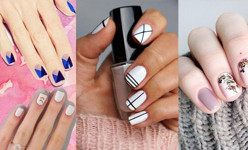 El nail art llamará la atención de cualquiera.
