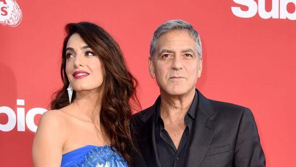 Amal Alamuddin y George Clooney
