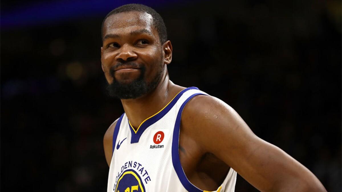 Kevin Durant no volverá a jugar con Warriors