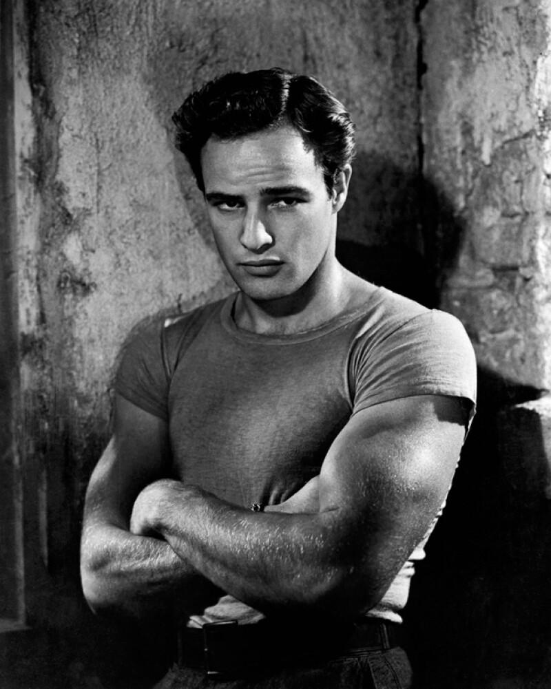 Marlon Brando en una escena de `Un tranvía llamado deseo´.