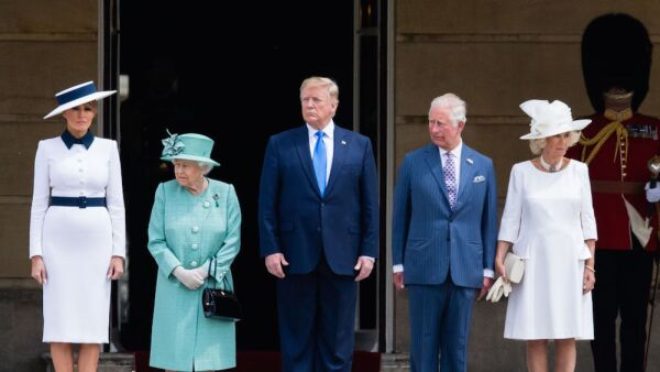 U.S. President Trump's State Visit To UK - Day One
