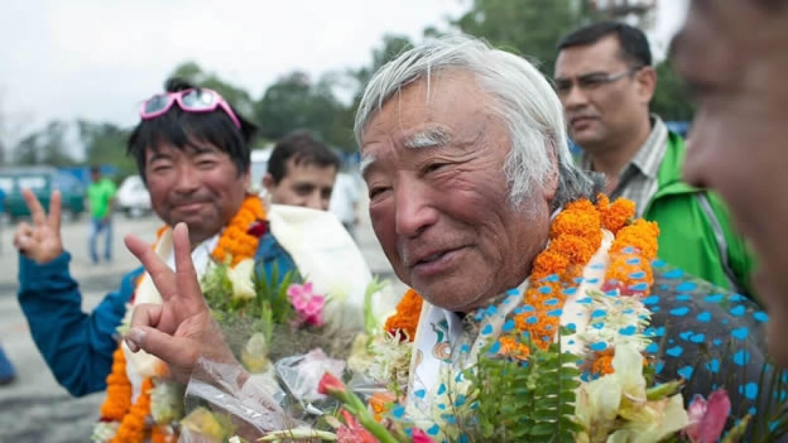 Yuichiro miura, de 80 años