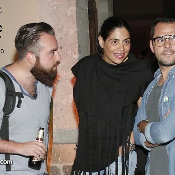 Daniel Pacheco,Sofía Aguilar y Omar Ochoa