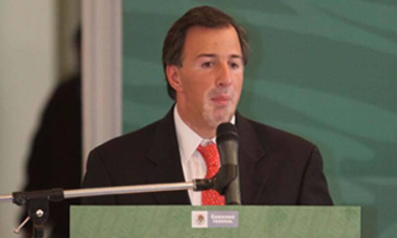 José Antonio Meade fue titular de la Secretaria de Energía durante menos de un año. (Foto: Notimex)