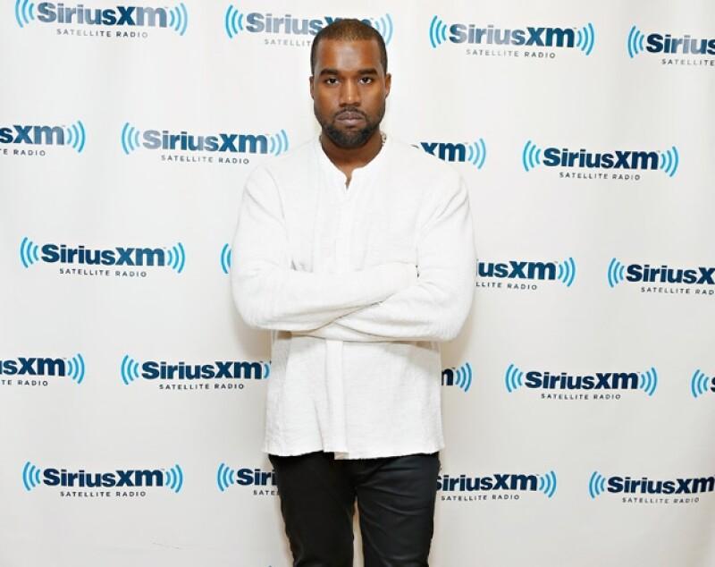 Una de las características de Kanye es dar declaraciones llenas de irreverencias.