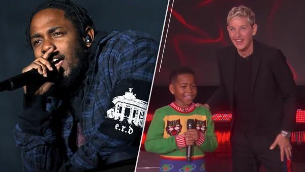 Ve el video del niño de nueve años que imitó a Kendrick Lamar