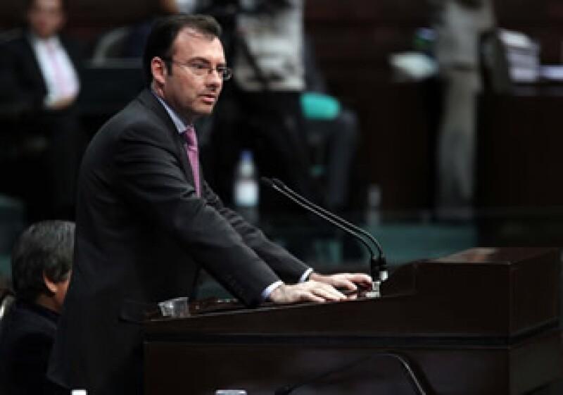 Diputado Luis Videgaray, presidente de la Cosmión de Presupuesto y Cuenta Pública. (Foto: Notimex)
