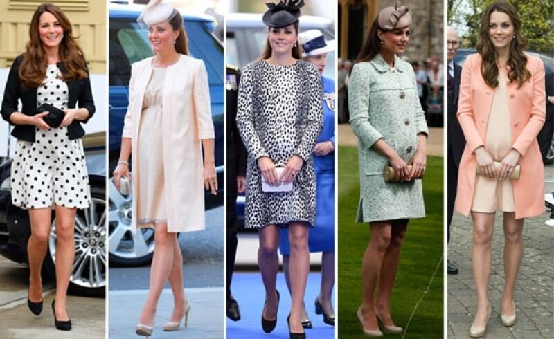 Kate Middleton destacó por su discreto pero elegante estilo.