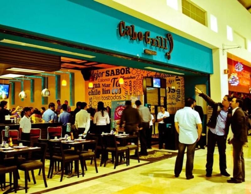 El restaurante de mariscos Cabo Grill es el mejor remedio contra el calor que se siente en León.