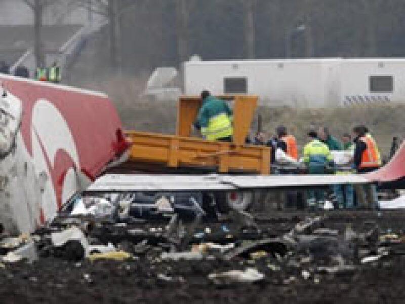 El accidente ha dejado un saldo de nueve muertos y 84 heridos.  (Foto: Reuters)