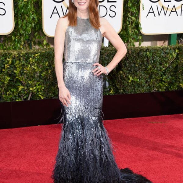 Julianne Moore en Givenchy.