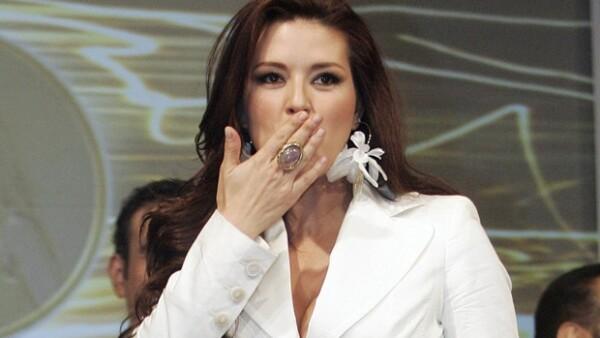 La actriz confundió a China con Corea del Norte y Corea del Sur, para hacer referencia al conflicto bélico que mantienen ambas naciones.