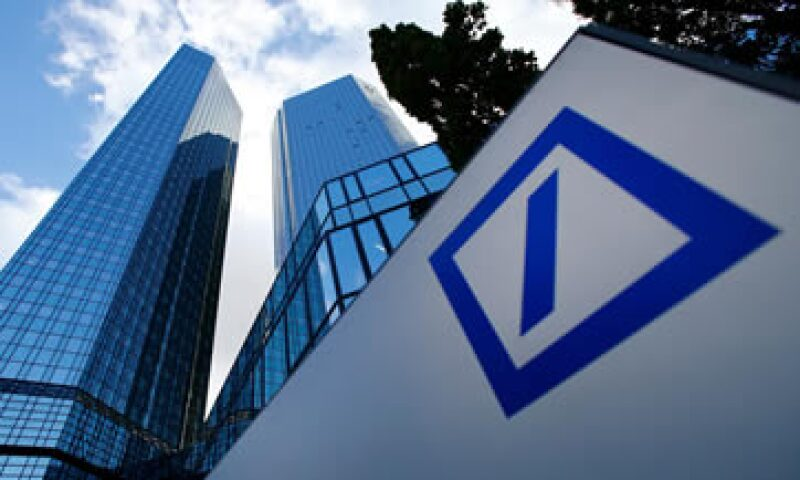 Deutsche Bank AG registró un lento comienzo de año en su banco de inversiones. (Foto: Reuters)