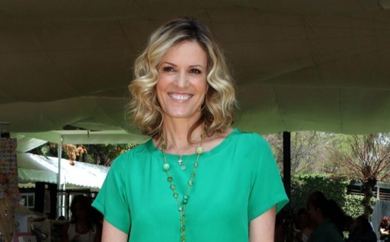 Rebecca de Alba aseguró que no entrevistará a su ex pareja.