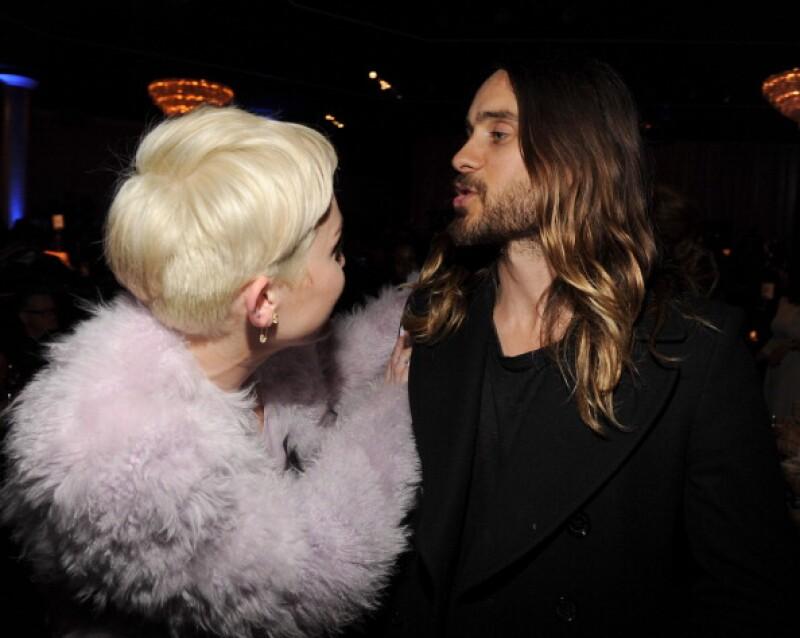 Otro encuentro fue el año pasado en los premios Grammy.