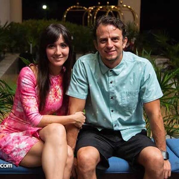 Eréndira Ibarra y Fredd Londoño