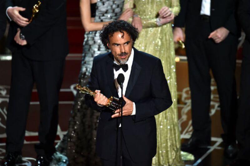 Alejandro González Iñárritu, ganador a Mejor Director.