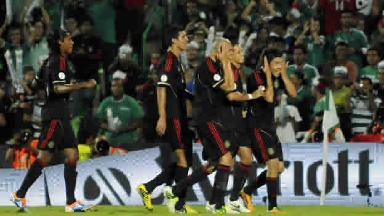 Mexico, tri, futbo, el salvador, festejo, TSM