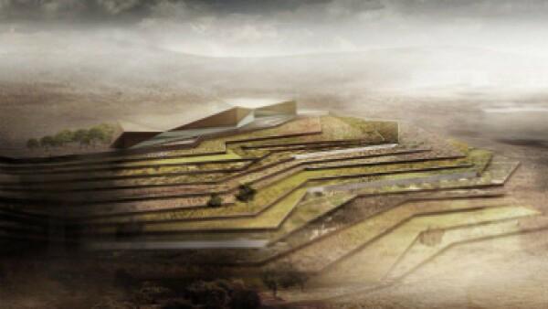 El Museo Palestino será el más grande de su tipo dedicado al arte y la cultura palestina. (Foto: Heneghan Peng Architects )
