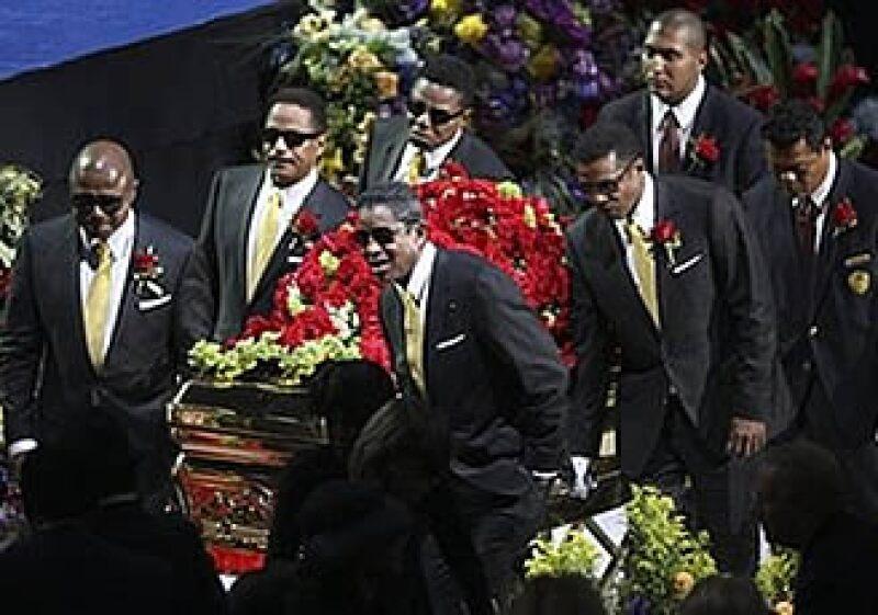 El funeral de Michael Jackson tuvo la mayor cobertura de los últimos 12 años. (Foto: AP)