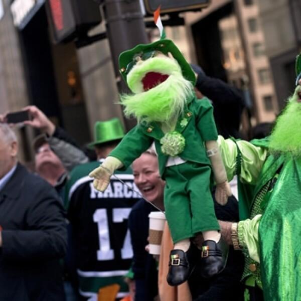 desfile de san patricio en nueva york