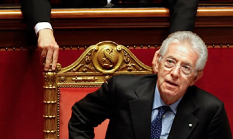 Mario Monti dijo que implementará sacrificios equitativos ante la situación de emergencia económica.