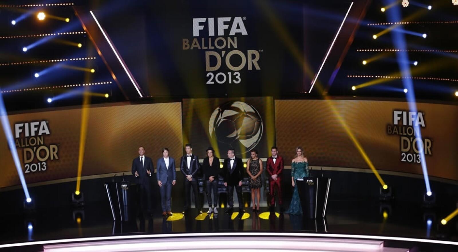 Balón de Oro ceremonia