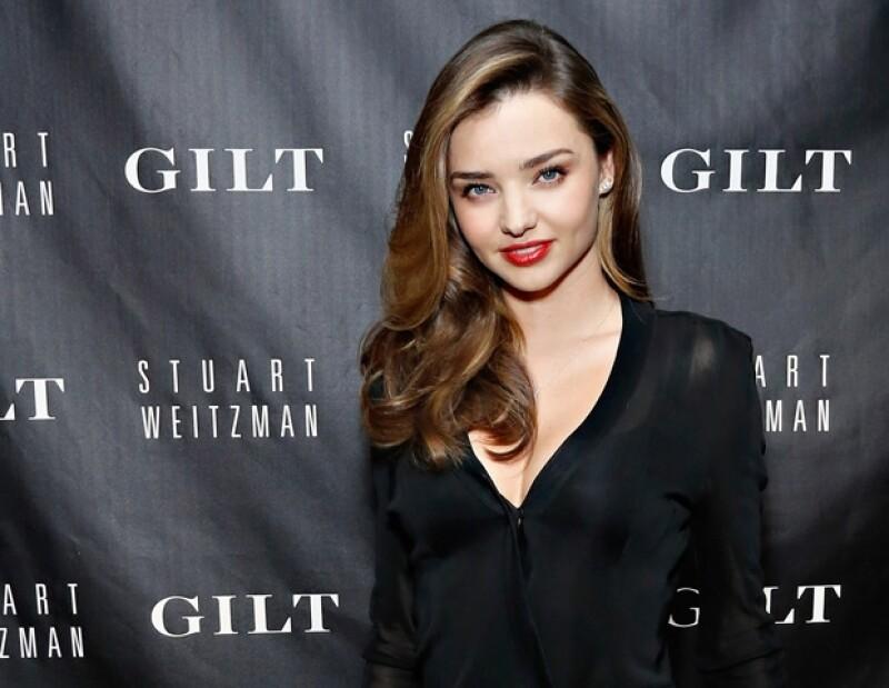 La modelo tiene un buen maestro en casa, su esposo Orlando Bloom.